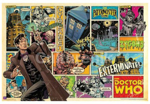 Doctor-Who-Comic-Poster